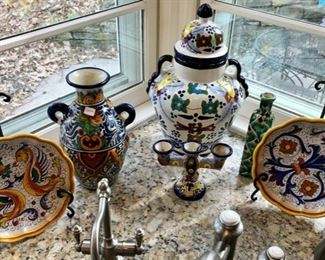 Collection of Italian Pottery