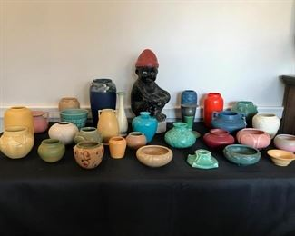 Rookwood, Weller, and UND Pottery collection