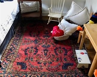 Oriental Carpet, Vintage Rocking Chair, Children's Table and Chairs, Side Table, and more...