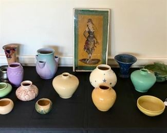 Rookwood, Weller, and UND Pottery