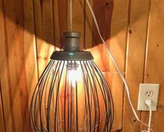 Industrial Farmhouse Style Light (Beater Light)
