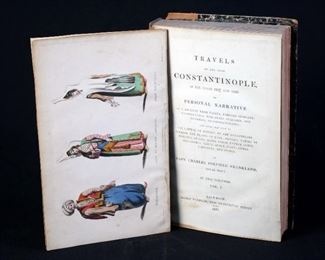 Travels To And From Constantinople, 2 Volume Set