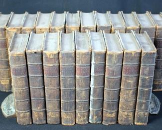 The History Of England By M Rapin De Thoyras, 21 Volume Set