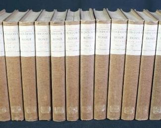 History Of Rome By Victor Duruy, 16 Volume Set