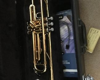 Yamaha   YTR-2335   with case and mouthpiece in very nice condition