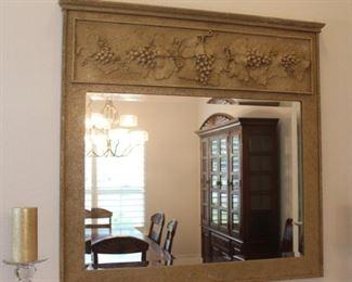 "Tuscan style wall mirror - 42"" x 42"""
