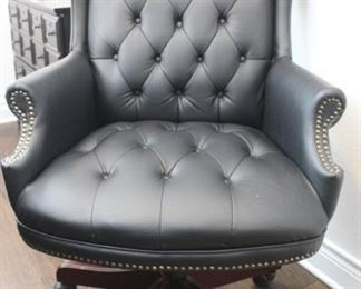 Navy office chair