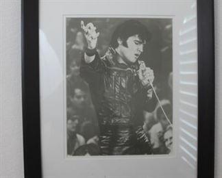 """Elvis  framed photo - 18.5"""" x 22.5"""""""