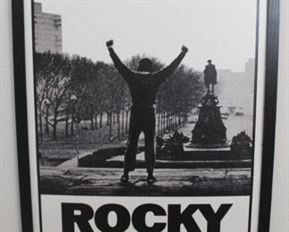 """Rocky framed poster (no glass), 26"""" wide, 38"""" tall"""