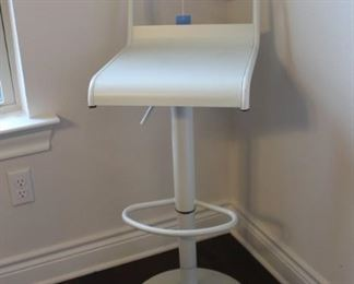 metal barber stool