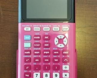 TI-84 plus CE graphing calculator
