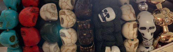 Skeleton bracelets