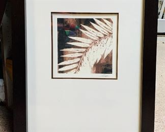 Large signed picture