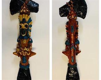 Aztec Hatchet Statue