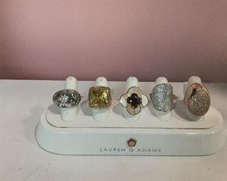 Lauren G Adams Rings
