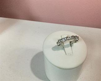 Bvlgari White Gold & Diamond Eternity Ring