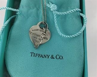 Sterling silver Tiffany necklace