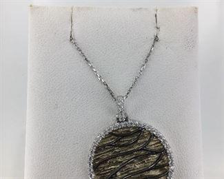 SS cz necklace