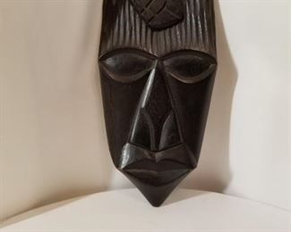 Close up, African mask