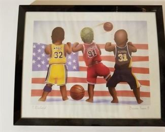 "Signed T. Richard ""Dream team II"""