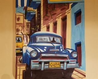 Bought in Cuba 'Old American car' oil