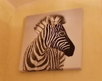 Zebra painting, new