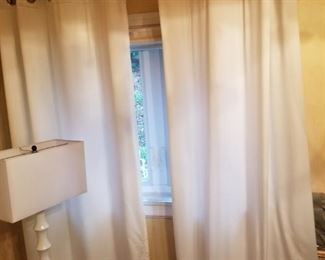 8' drapes for sale w/hardware