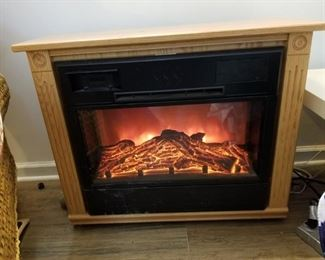 Electric fire place.