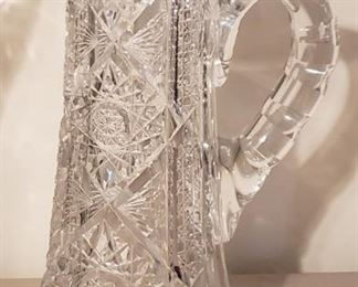 Unbelievable Crystal pitcher