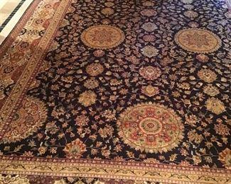 Oriental handmade carpet