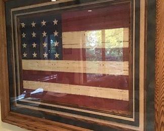 Folk Art American flag
