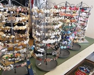 Vintage Jewelry & Displays 75% off