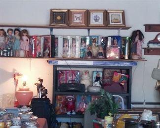 Vintage Miss Revlon and Barbies