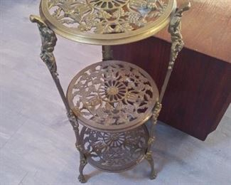 Brass Table/ Flower Stand