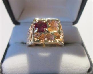 Men's Gold Ring - Size 11