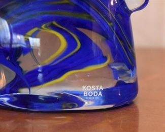 Kosta Boda Art Glass Paperweight