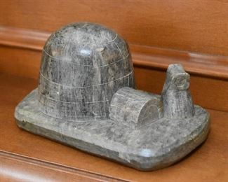 Inuit Stone Carving / Sculpture (Eskimo & Igloo)
