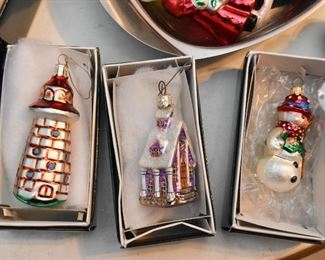 Radko Christmas Ornaments