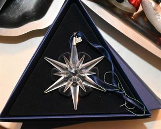 Swarovski Crystal Christmas Ornament