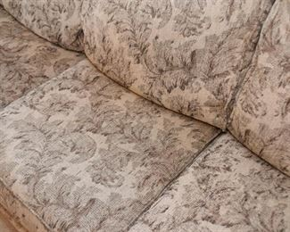 3-Seat Sofa with Nailhead Trim
