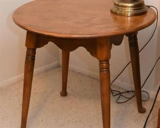 Vintage Round Occasional Table / Side Table