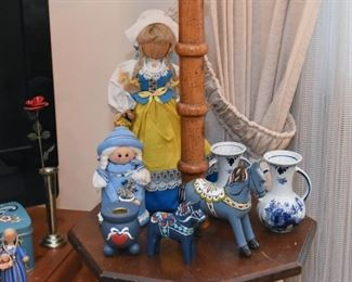 Swedish Dolls, Swedish Decor, Home Decor, Blue & White Vases