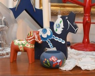 Swedish Decor, Folk Art & Christmas Decor - Dala Horses