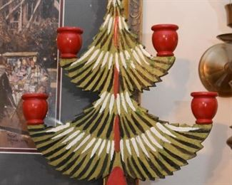 Swedish Decor, Folk Art & Christmas Decor - Candle Holders / Candelabras