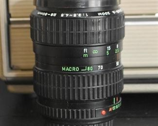 Takumar 28-80mm Camera Lens