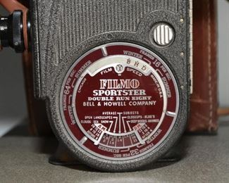 Bell & Howell Filmo Sportster Film Camera (there are 2 of these)