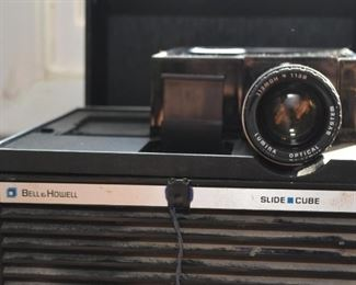 Bell & Howell Side Cube Projector