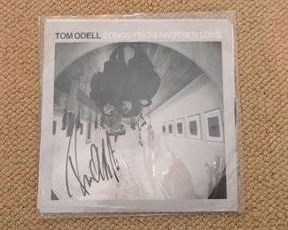 Autographed Album - Tom Odell