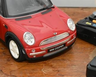 Remote Control Mini Cooper Cars