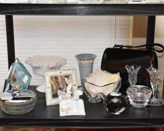 Home Decor - Trinket Boxes, Milk Glass, Crystal & Glassware, Candle Holders, Etc.